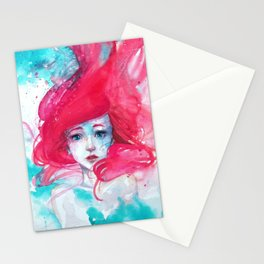Princess Ariel - Little Mermaid has no tears Stationery Cards
