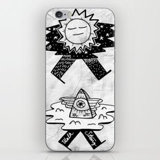 Sun / Pyramid walker combo iPhone & iPod Skin