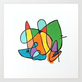 Abstracta IV Art Print