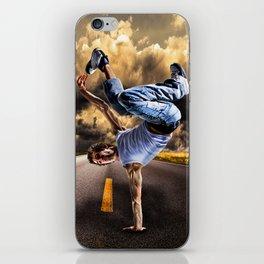 Break dance iPhone Skin
