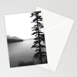 Maligne Lake Alberta Stationery Cards