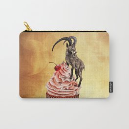 Unconquered Peak // goat cupcake Carry-All Pouch