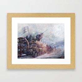 Mobile Inquisition Framed Art Print
