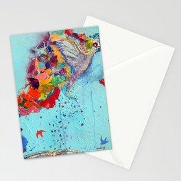 Flight by Letter by Nadia J Art Stationery Cards