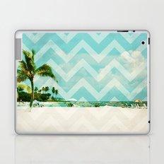 Chevron Beach Dreams Laptop & iPad Skin
