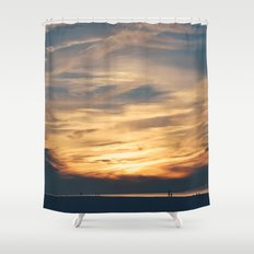 Cape Sunsets Shower Curtain