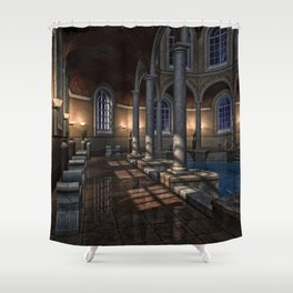 Poolside 2 Shower Curtain