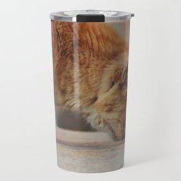 Toffee cat Travel Mug
