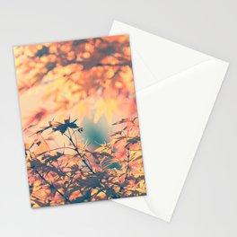 SUBTLE MAPLE - AUTUMN PINK Stationery Cards