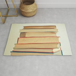 Stack of Books Rug