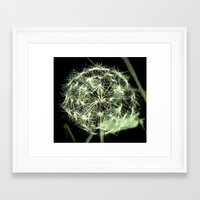 sacred geometry Framed Art Prints featuring Sacred Geometry  by a.rose