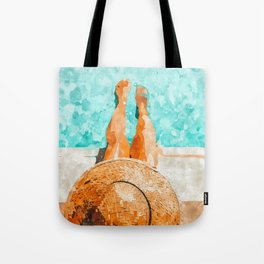 By The Pool All Day Tote Bag