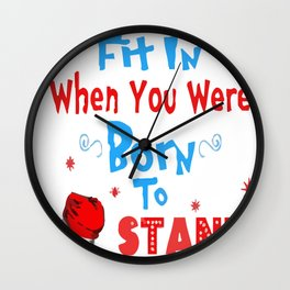 002. Why fit copy Wall Clock