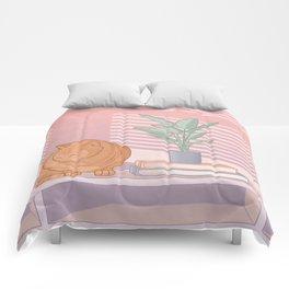 Cat Nap Comforters