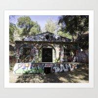 grafitti Art Prints featuring Grafitti  by SEMphotography