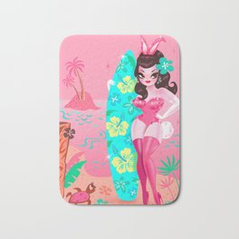 Hawaii Burlesque Festival Beach Bunny Bath Mat