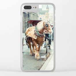 Montreal Taxi Clear iPhone Case