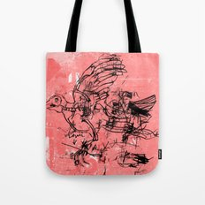 LOWER 4 Tote Bag