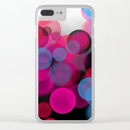 Dream Dots Clear iPhone Case