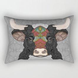 Billy the bull Rectangular Pillow
