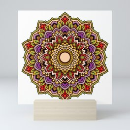 Mandala Blossom Hibiscus Mini Art Print