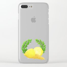 When Life Gives You Lemons, You Paint That **** Gold Clear iPhone Case