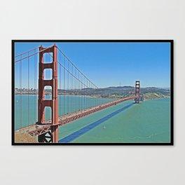 Golden Gate Bridge Canvas Print