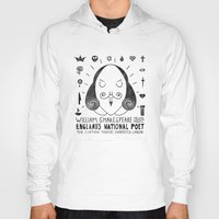 the national Hoodies featuring England's National Poet by Farnell