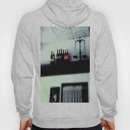 bottles and scales  Hoody