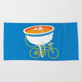 GoGo Ramen Beach Towel