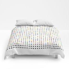 Pi Dots Comforters