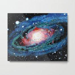 Andromeda Galaxy Painting Metal Print