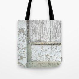 white peeling paint Tote Bag