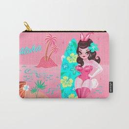 Hawaii Burlesque Festival Beach Bunny Carry-All Pouch