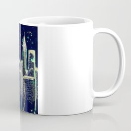 Dusk Falls Over Manhattan Coffee Mug