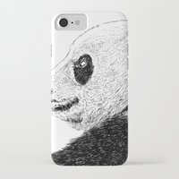 pandas iPhone & iPod Cases featuring pandas by barmalisiRTB