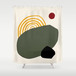 abstract 020419 Shower Curtain