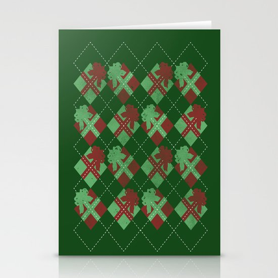 it's all about the presents Stationery Cards