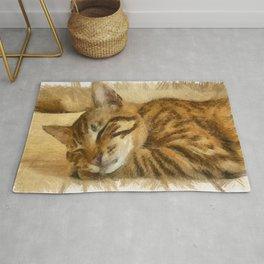 Let Sleeping Cats Lie Rug