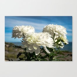 Naturally Floral Canvas Print