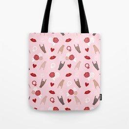 Sisterhood Theme Tote Bag