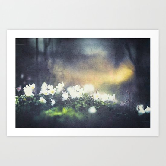 Rugged beauty Art Print