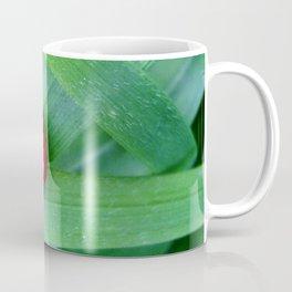 Ladybug in the grass Coffee Mug