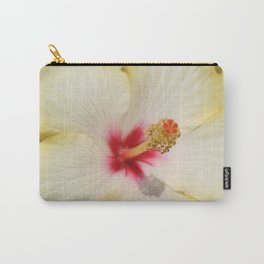Beautiful Yellow Hibiscus Flower  Carry-All Pouch