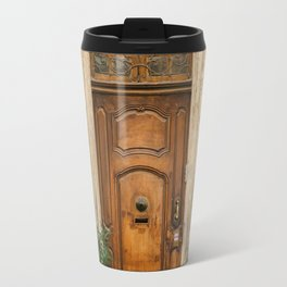 Ornate Door in Marseille South of France Travel Mug