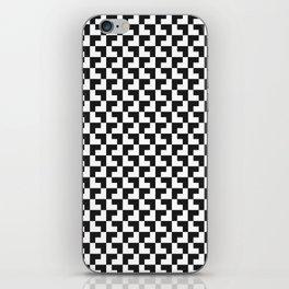 Black and White Tessellation iPhone Skin