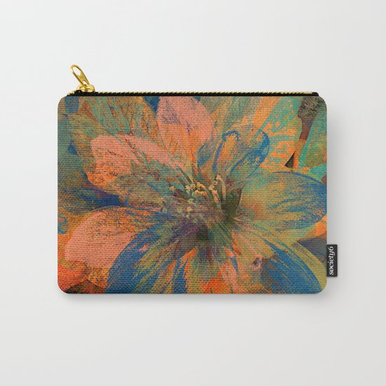 Floral abstract(43) Carry-All Pouch