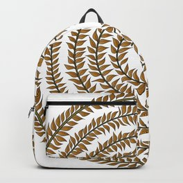Merry go round (gold) Backpack