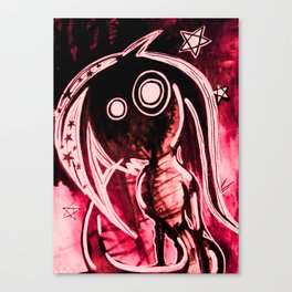 Hellish mermaid Canvas Print