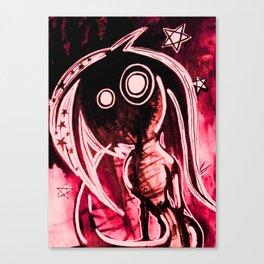 Hellish mermaid Canvas Print